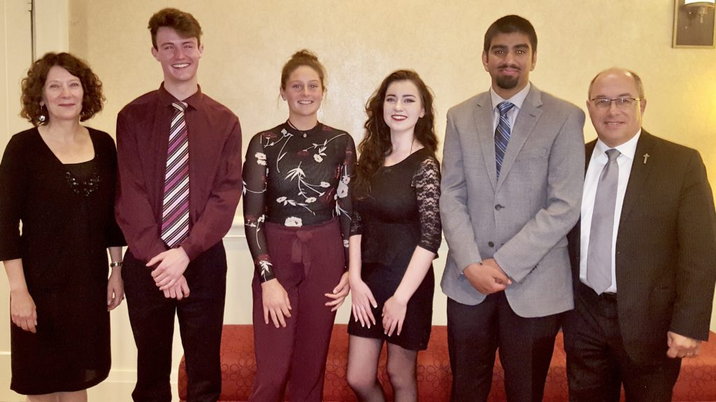 student award winners group image