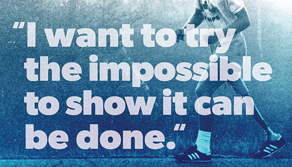 Terry Fox quote poster
