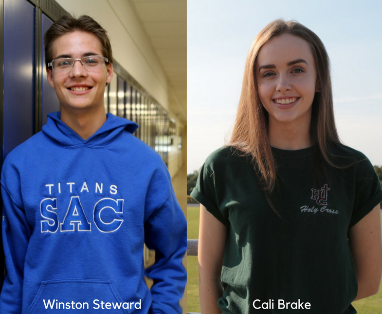 student trustees' profile images