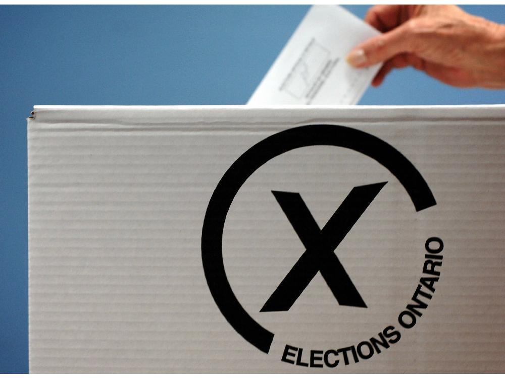 Generic Elections Ontario Ballot Box