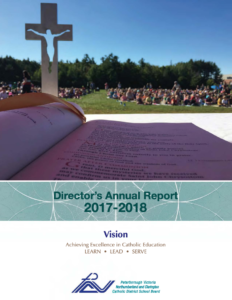 Director's Annual Report 2017-2018 Cover Image