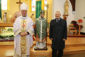 image of bishop and the donor
