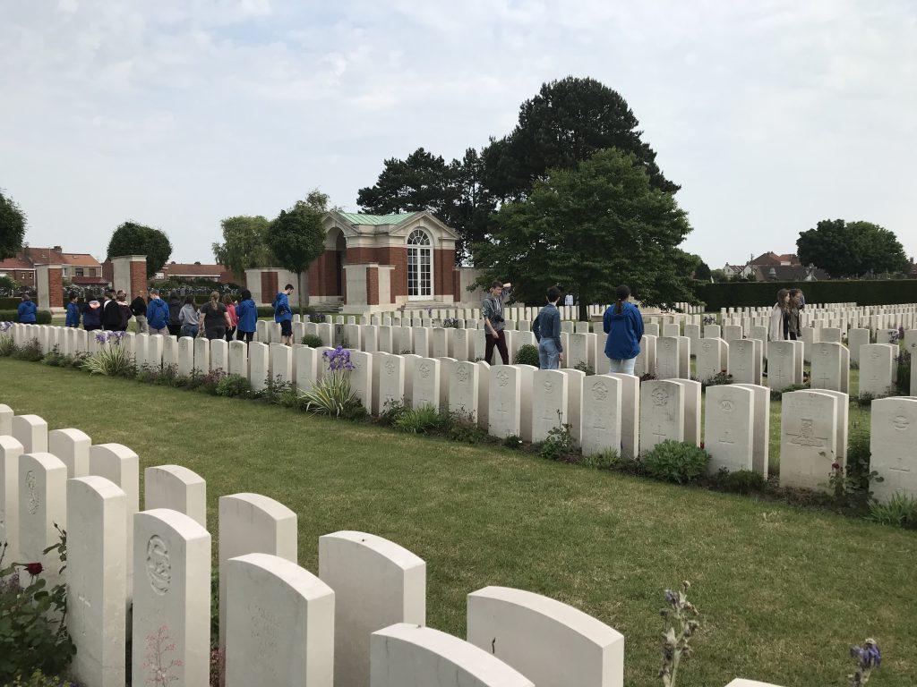 Venterans grave yard