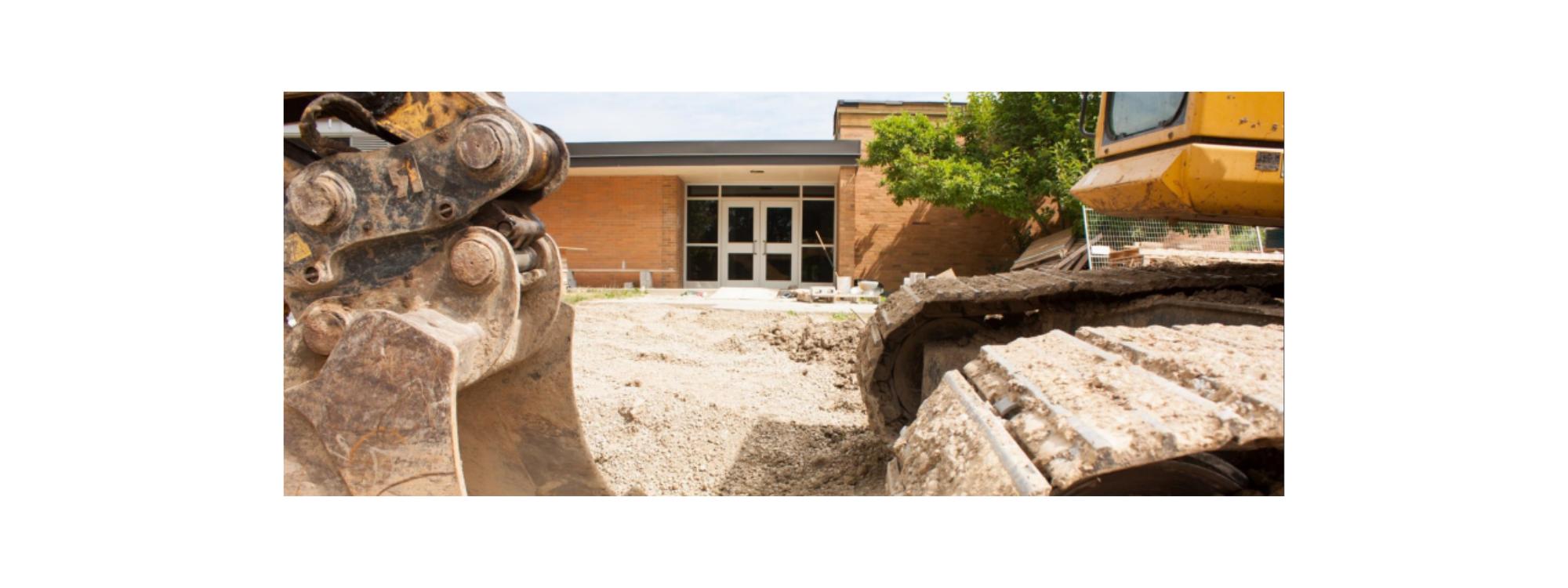 Image of new school construction