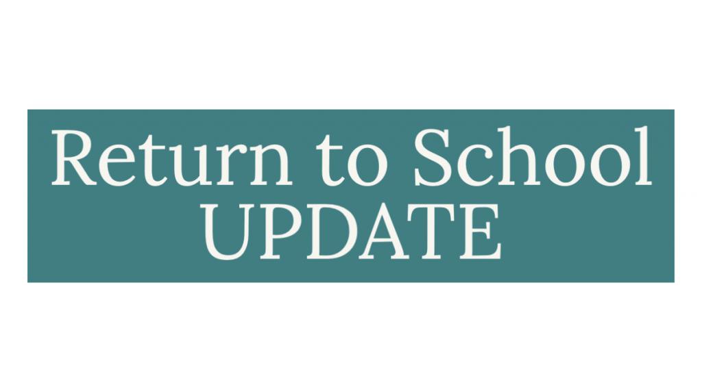 Return to School Update Icon