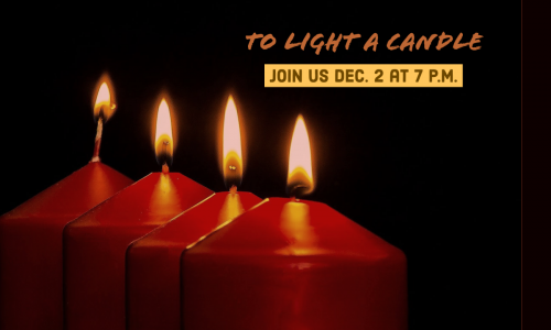 Image of Burning Candles for advent season