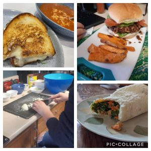 Collage of Student Culinary Projects