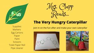 Hungry Caterpillar Student Work