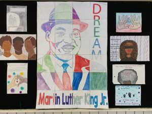 Pictures of a Black History Poster Collage