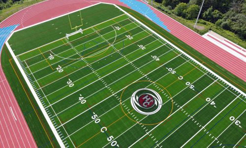 Holy Cross CSS New Field Aerial Photo