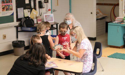 Summer Transition Program Classroom