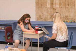 Summer Transitions program student.