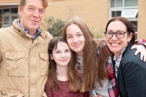 Photo of Kerin family.